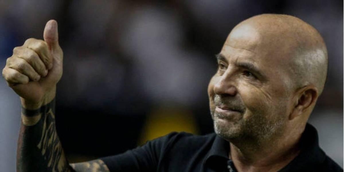 Sampaoli se luce en Brasil y lleva a Santos al liderato tras ganar el clásico a Corinthians