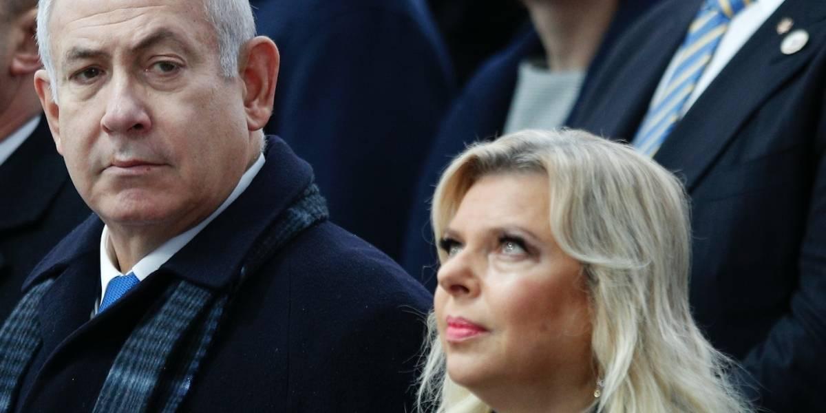 Esposa de Netanyahu se declara culpable de derroche