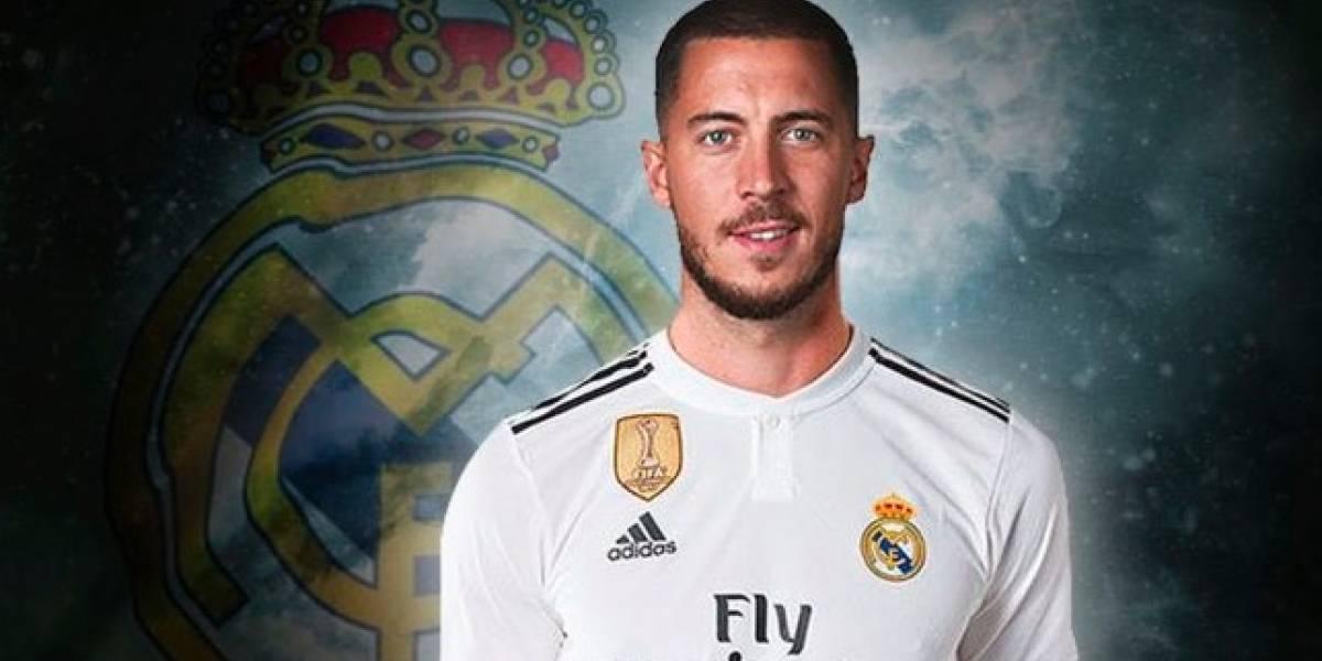 Quiere Real Madrid olvidar a Cristiano en presentación de Hazard