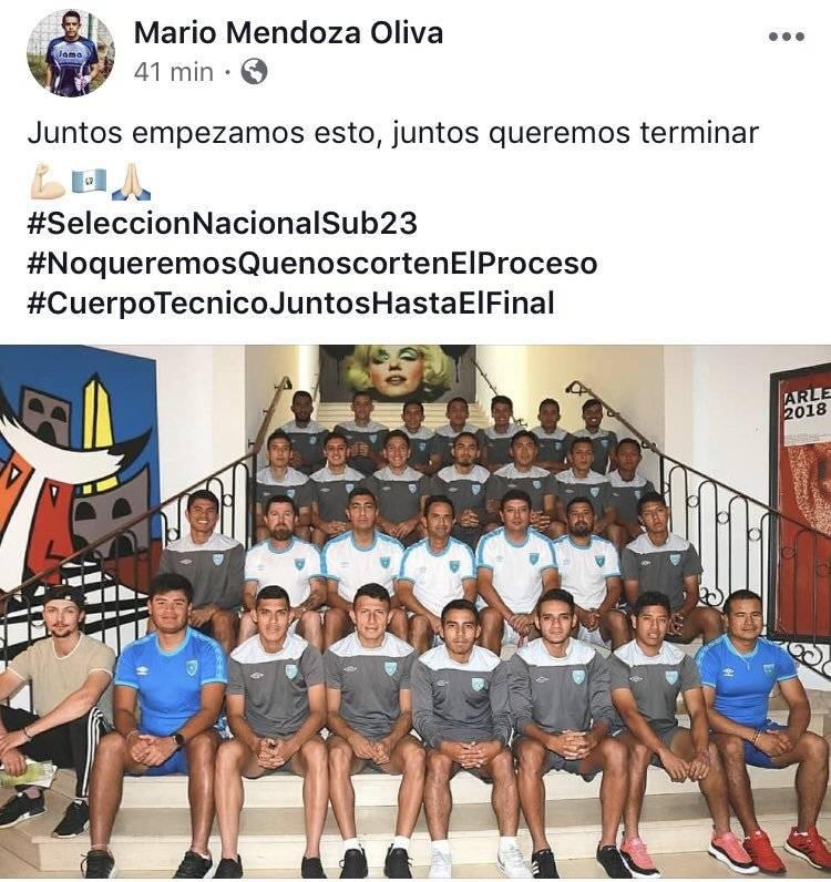 Intagram | Así se expresan los seleccionados sobre su cuerpo técnico Erick González.