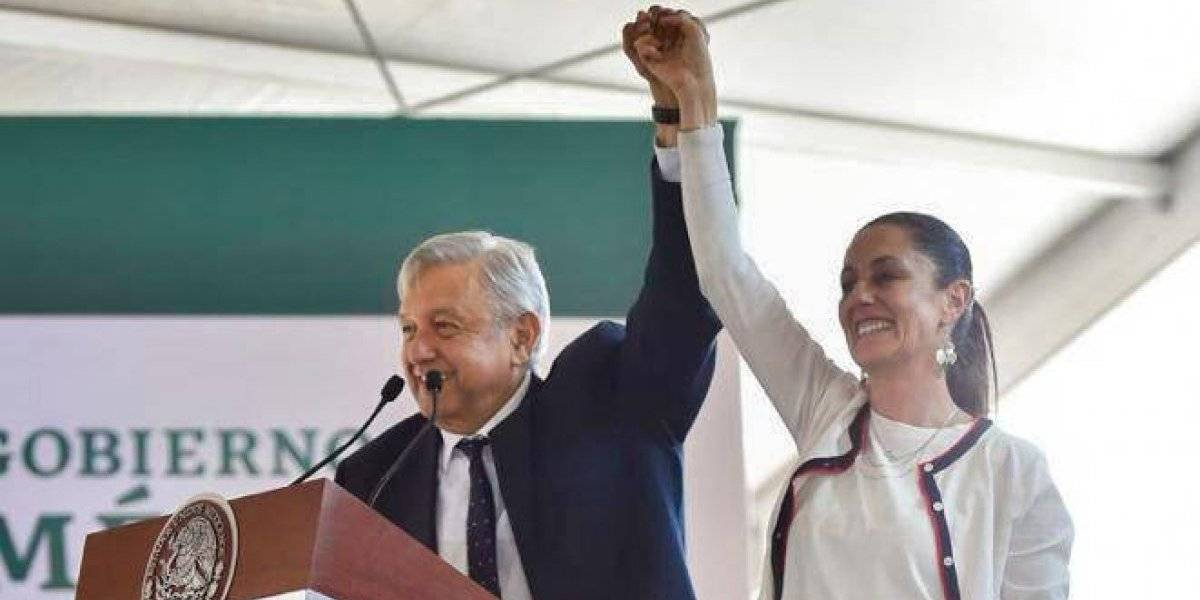 López Obrador apoya a Claudia Sheinbaum