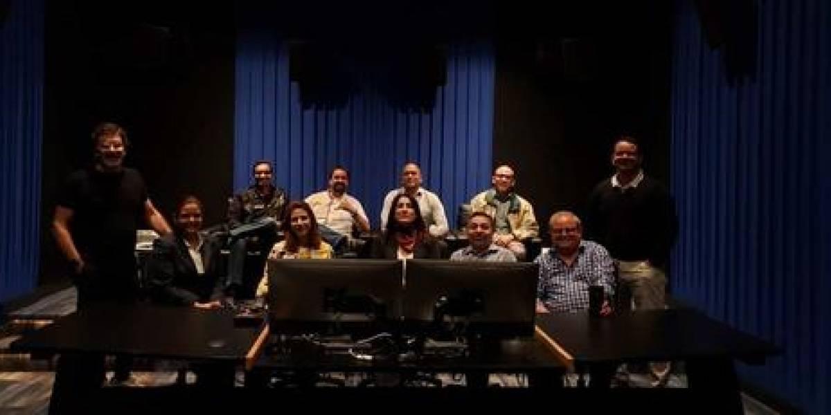 """Socios de Adopresci visitaron laboratorio de post producción """"La Nave"""""""