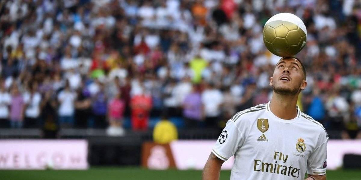Presentación de Eden Hazard con Real Madrid iguala un récord