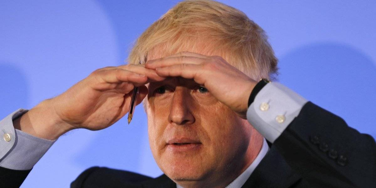 Boris Johnson partió como caballo inglés