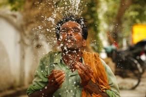 Ola de Calor en la India