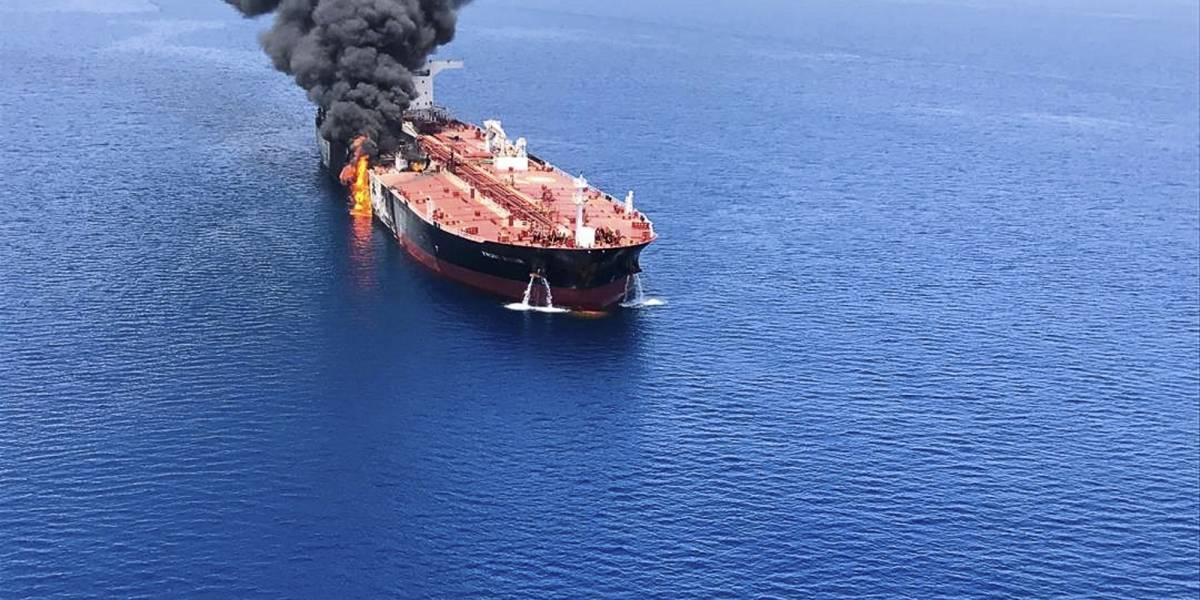Tensión en Medio Oriente: Atacan barcos petroleros cerca de Dubai