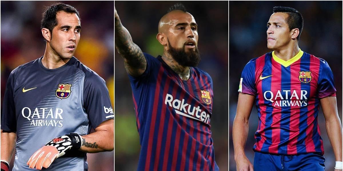 Bravo, Vidal y Alexis en competencia: Barcelona busca a su once ideal de jugadores sudamericanos