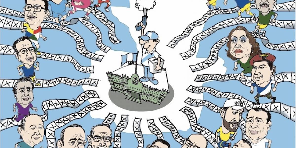 Guatemaltecos tendrán que elegir entre 19 presidenciables