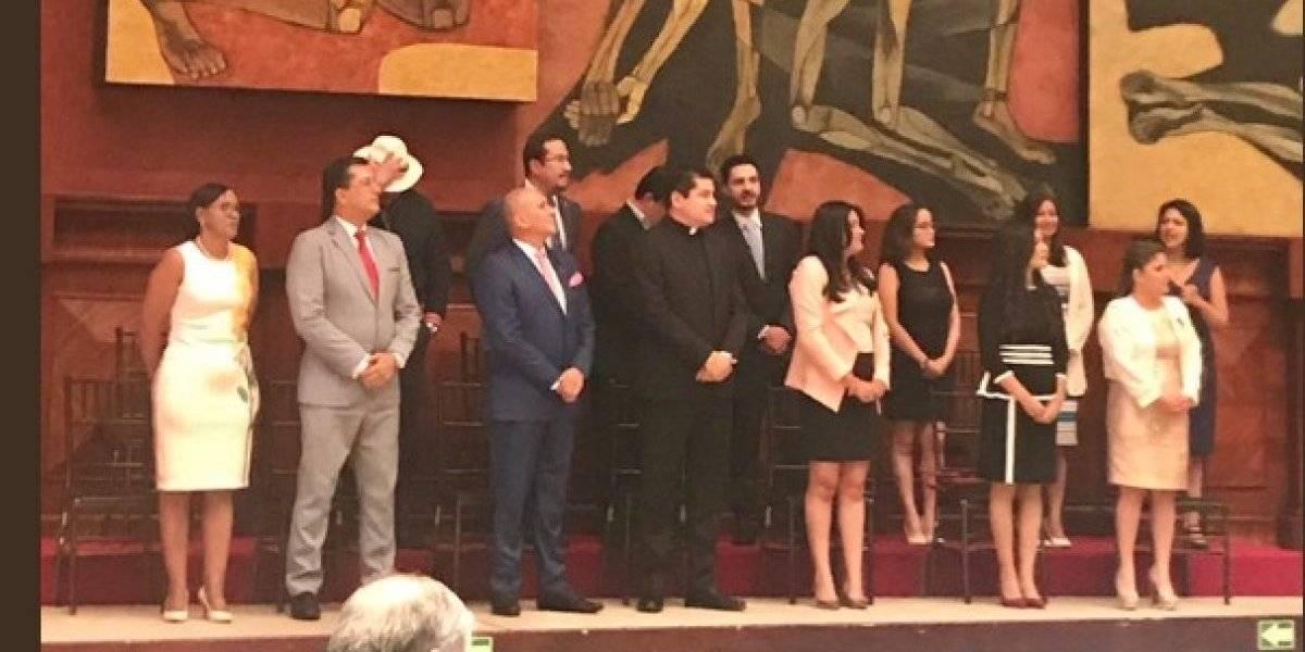 Consejo de Participación Ciudadana y Control Social se posesiona en la Asamblea Nacional