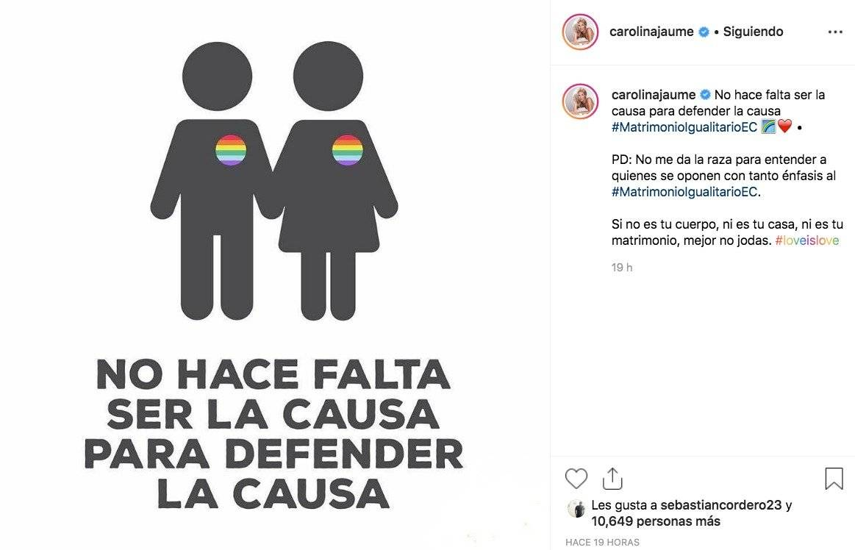 Post Carolina Jaume