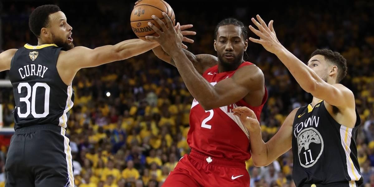 ¿Habrá campeón? Sexto juego entre los Golden State Warriors y los Toronto Raptors