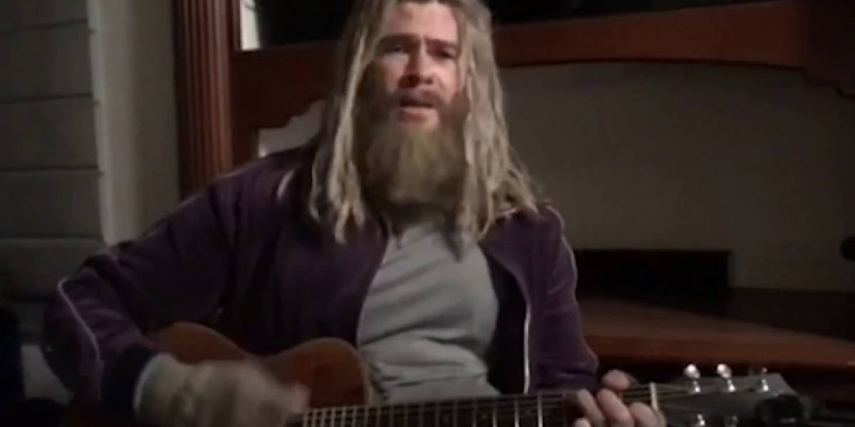 Avengers Endgame: El video de Thor gordo cantando, 'Hurt', que reveló Chris Hemsworth
