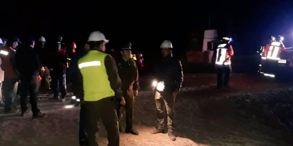 Tres bolivianos quedan atrapados en mina chilena tras derrumbe