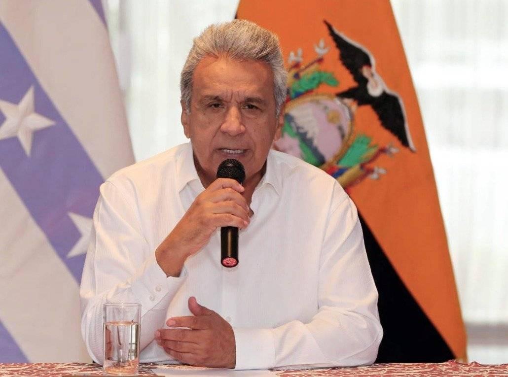 Presidente de la República, Lenín Moreno