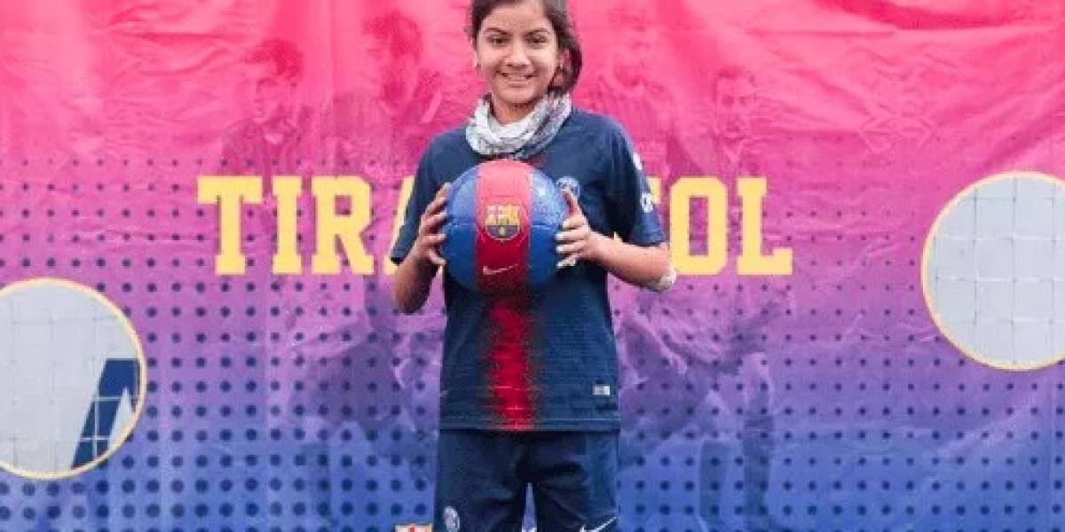 Nina: la pequeña futbolista que movilizó y unió en Internet a las mujeres de México y América Latina