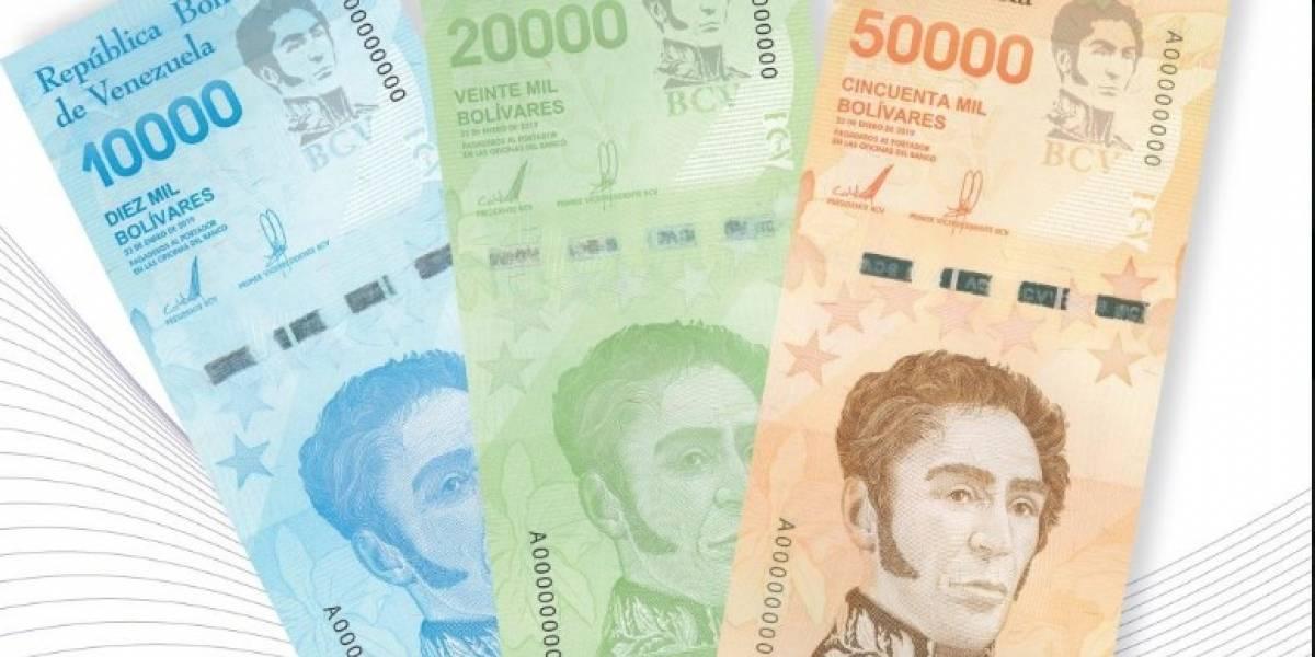 Venezuela emite nuevos billetes ante la incontrolable inflación