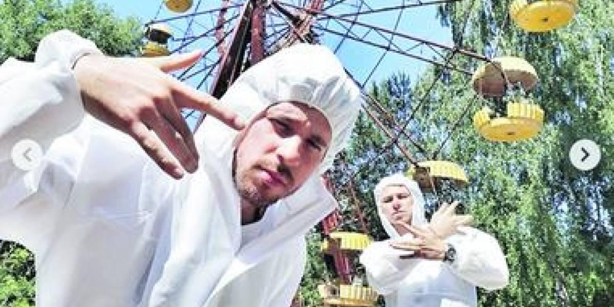 Los turistas que se burlan de la tragedia de Chernobyl