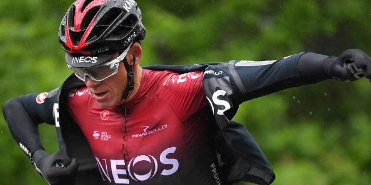 Chris Froome, uno de los 10 mejores ciclistas, está en cuidados intensivos