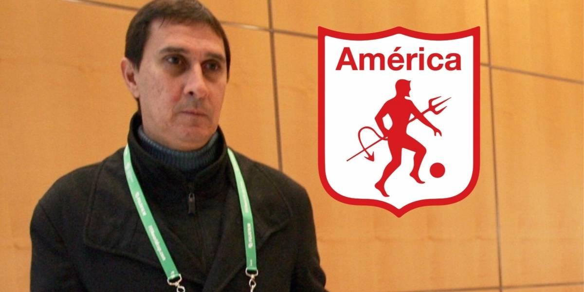 Alexandre Guimaraes, nuevo técnico del América de Cali