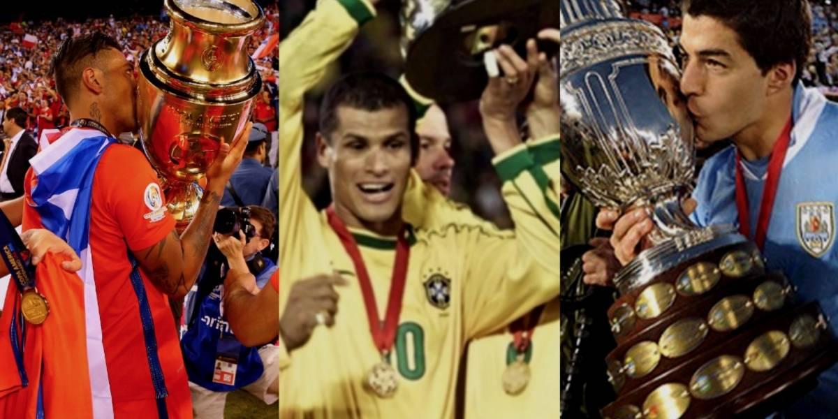 Ellos son todos los campeones de la Copa América