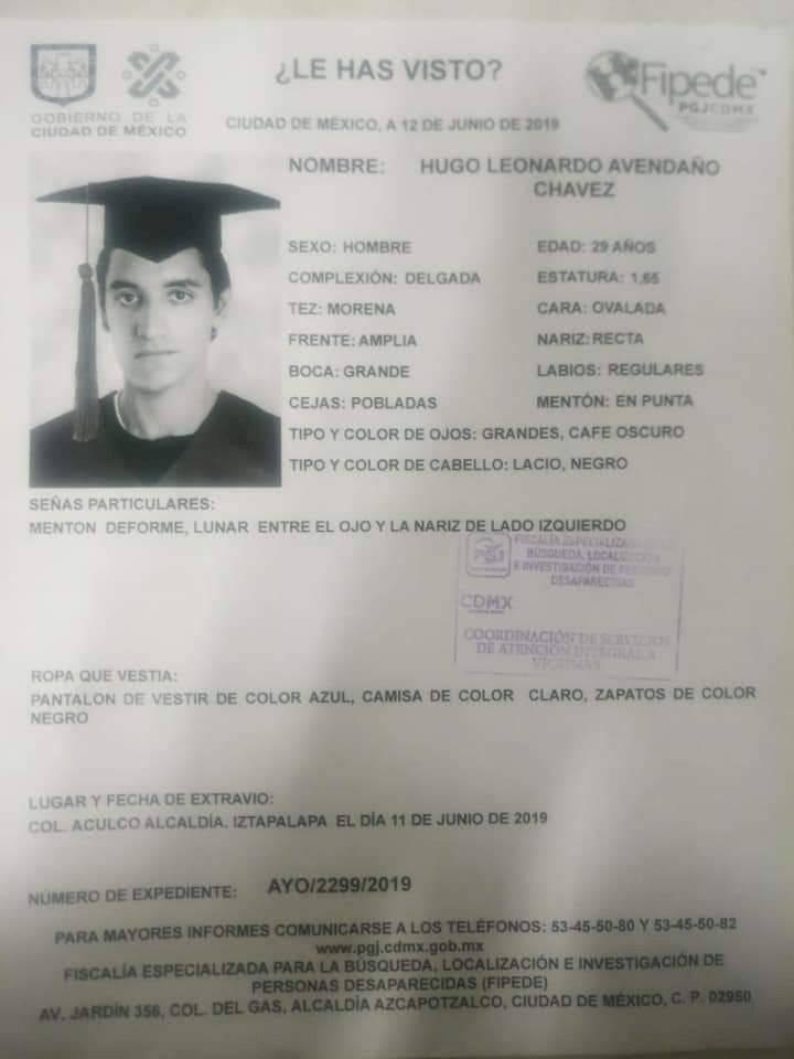 Asesinato Leonardo Avendaño