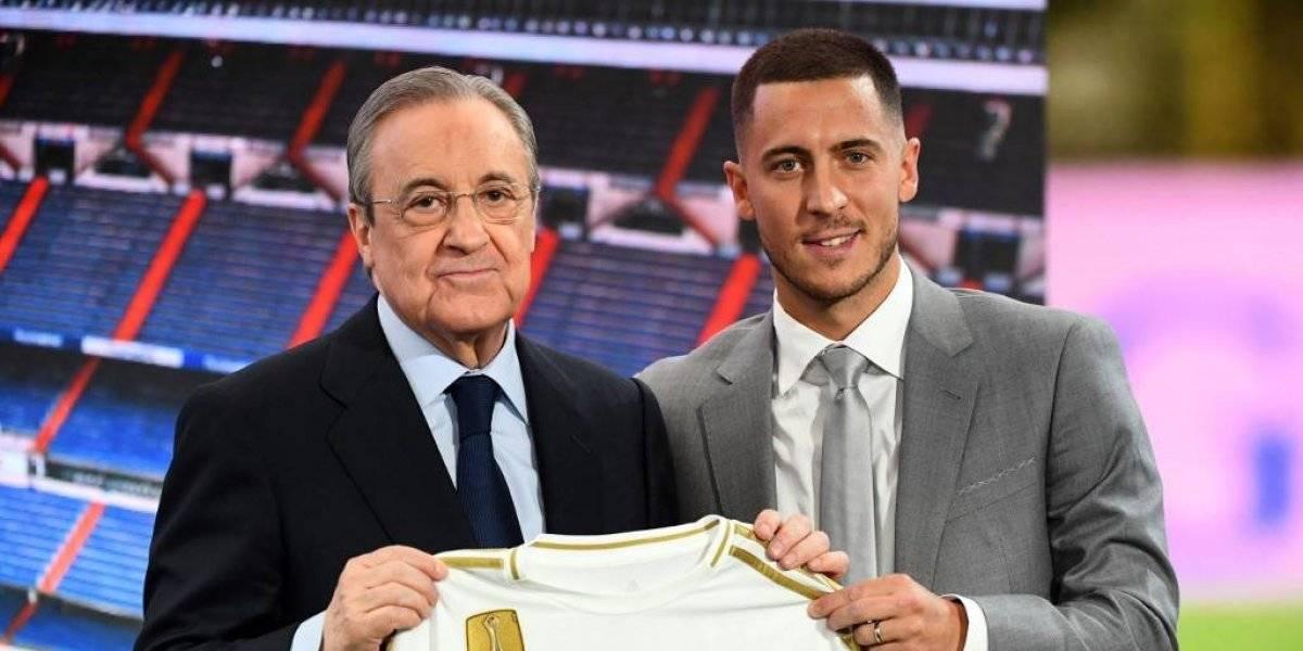 Real Madrid recibe a Eden Hazard en un ambiente de fiesta