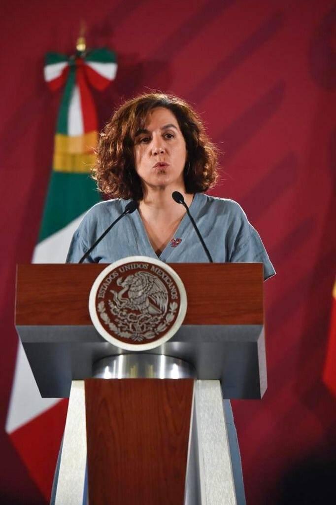 Irene Lozano Domingo, secretaria de Estado de la España Global. Foto: Gobierno de México