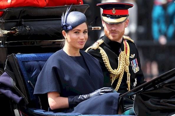 Príncipe Harry y Meghan Markle Getty Images