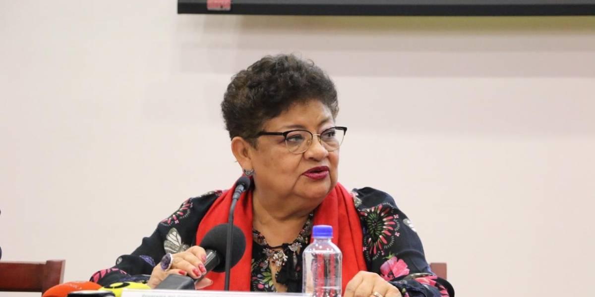 'No voy a renunciar, voy a dar resultados': Ernestina Godoy