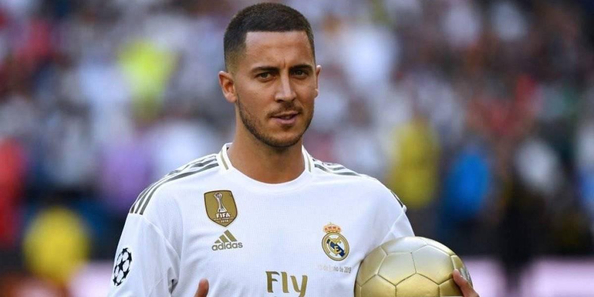 VIDEO. Así recibió el Santiago Bernabéu a Eden Hazard