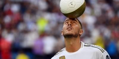 Presentación de Hazard con el Real Madrid