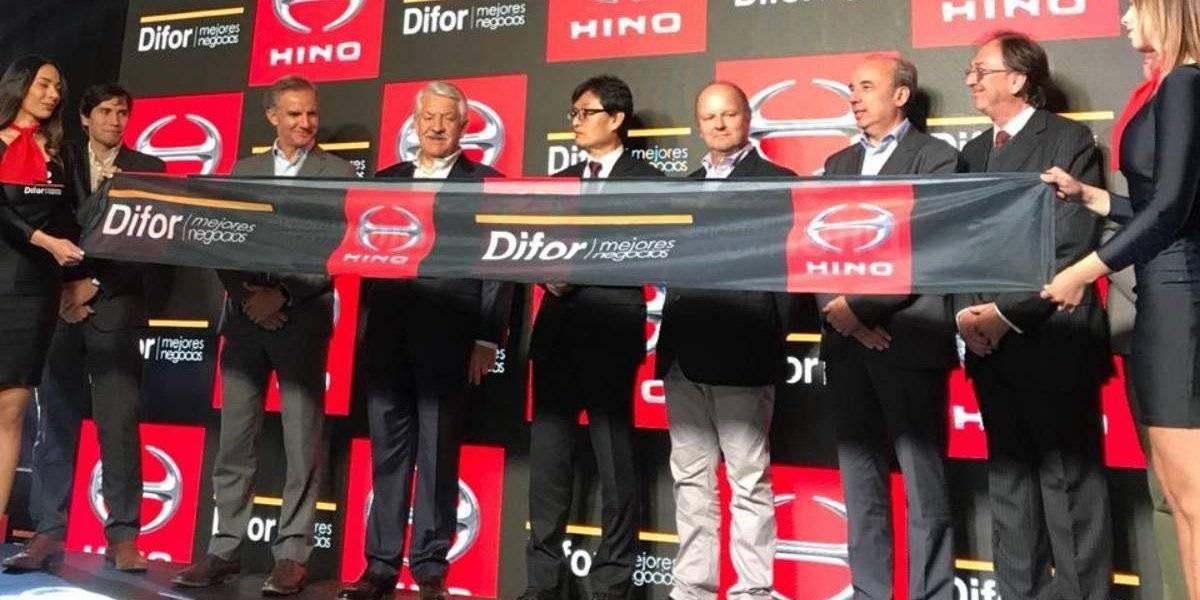 Hino inaugura con Difor un nuevo local en la zona norte de Santiago