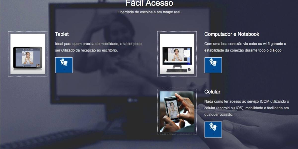 Aplicativo faz tradução simultânea de Libras para português