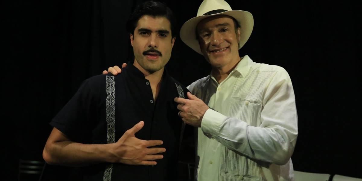 Odiseo y José Ángel Bichir juntos por primera vez en teatro