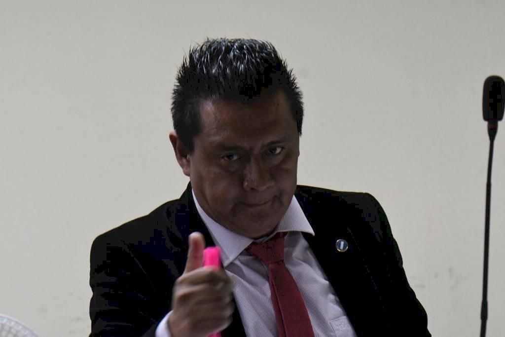 Juez Pedro Lainez. Foto: Omar Solís