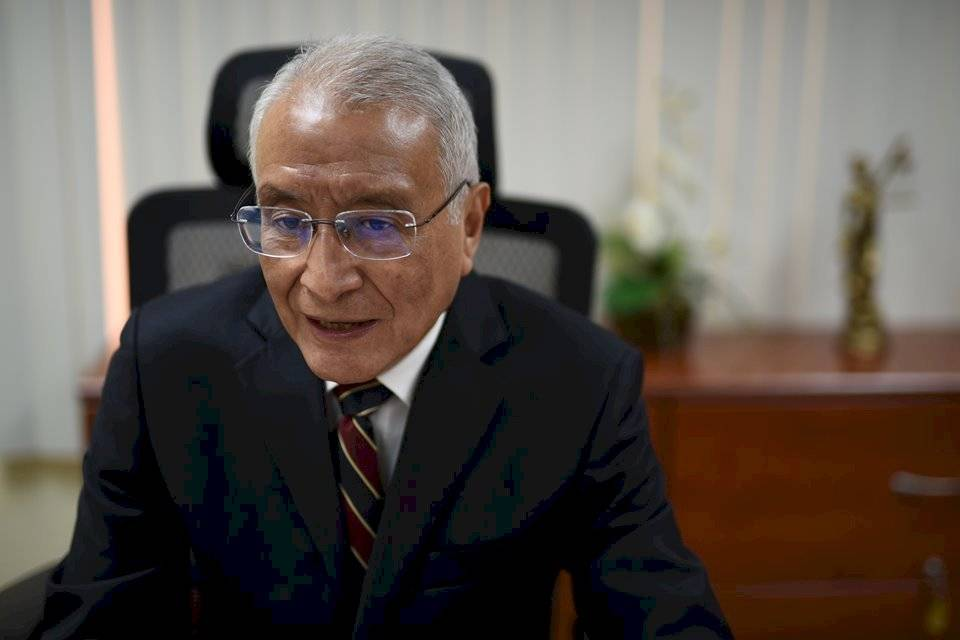 Julio Solórzano, presidente del TSE. Foto: Edwin Bercián