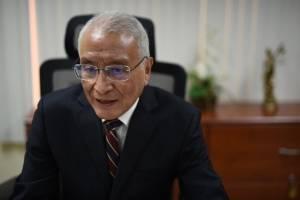 Julio Solórzano, presidente del TSE.