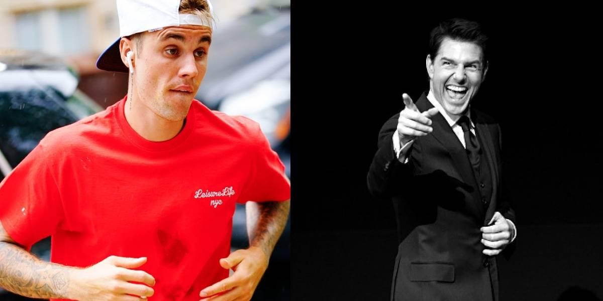 La razón por la que Justin Bieber desafío a pelear a Tom Cruise