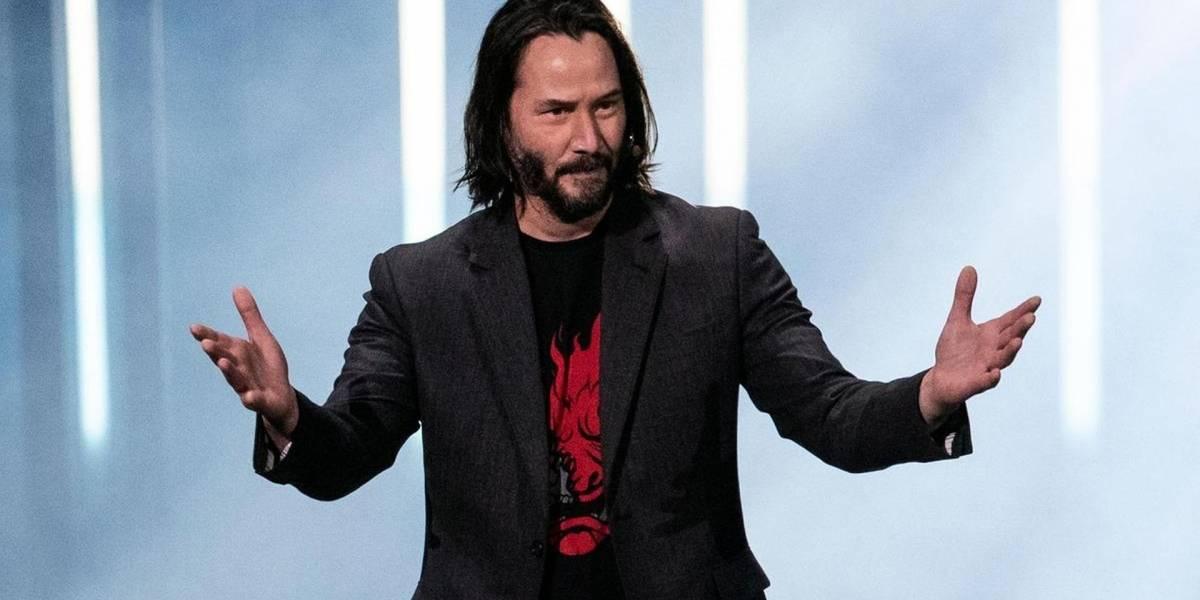 """Los jugadores jóvenes conocen a Keanu Reeves como """"el tipo de Fortnite"""""""