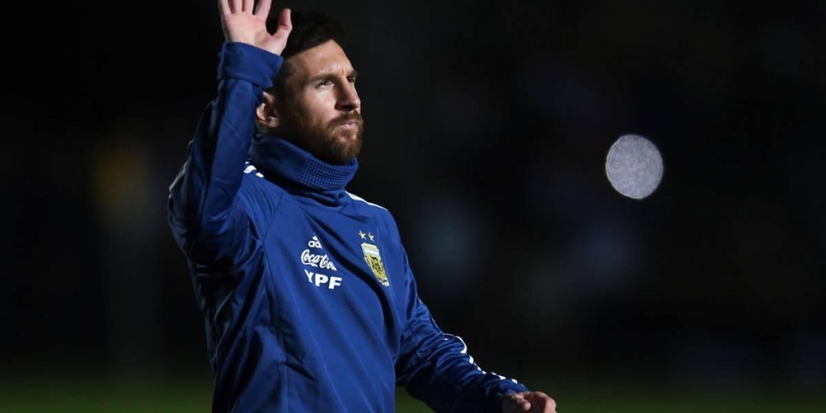 Messi también es idolatrado por la afición brasileña