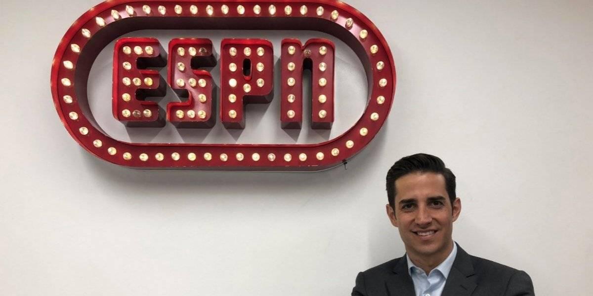 Michel González, ex de Televisa Deportes, llega a ESPN