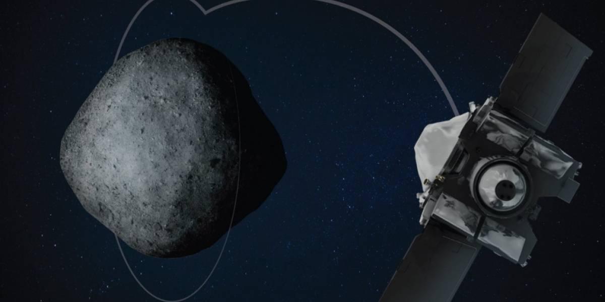 Sonda da NASA realiza aproximação impressionante do gigantesco asteroide Bennu