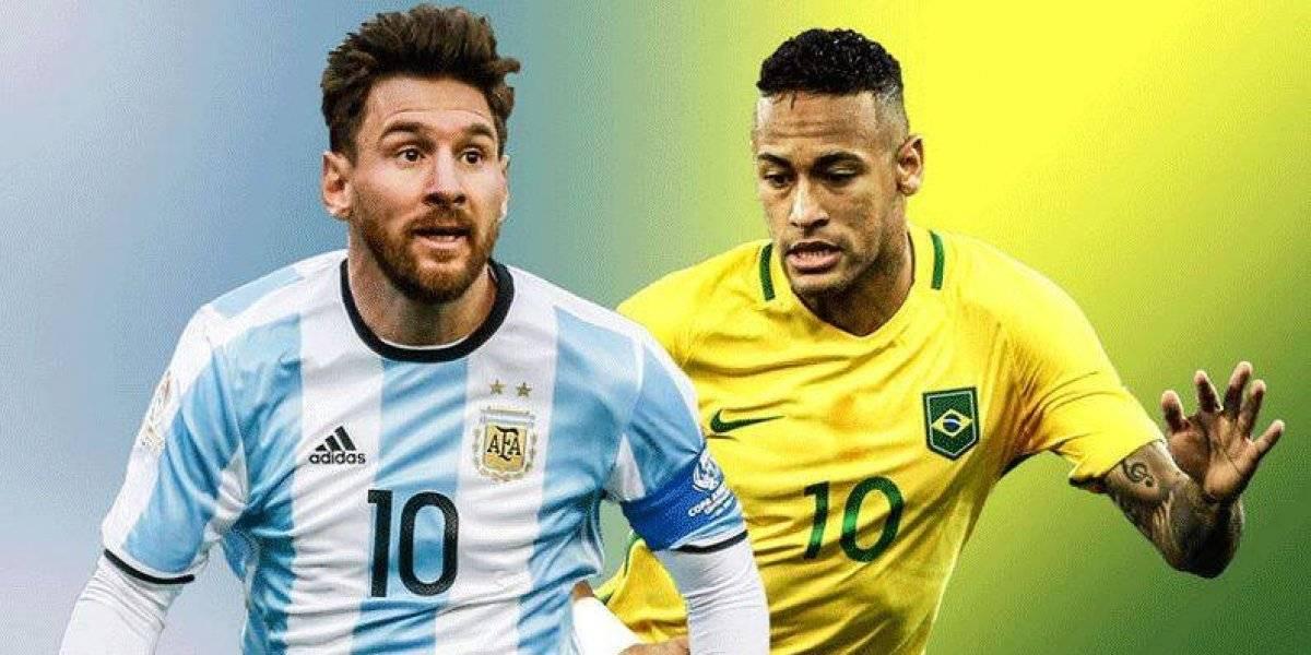 Neymar llama HDP a Messi previo a Copa América