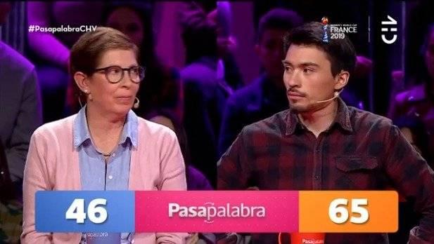 Nicolás Gavilán y Begoña Pasapalabra