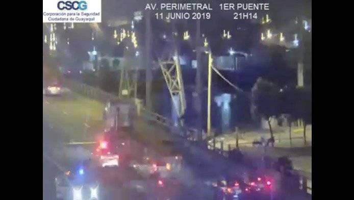 Persecución en Guayaquil