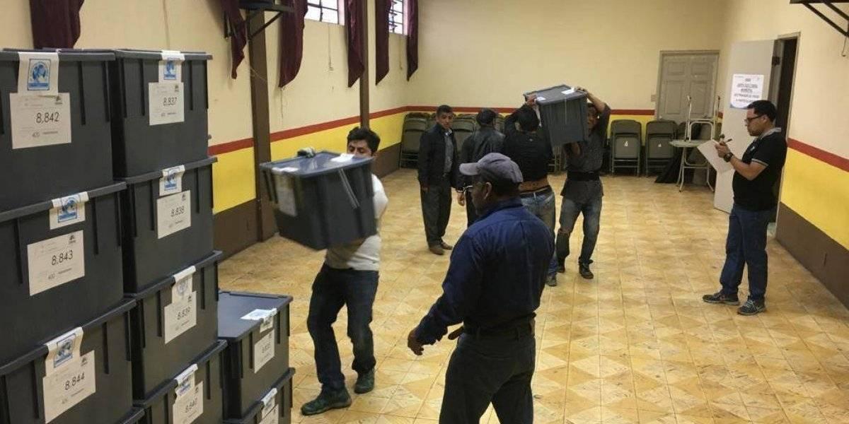 Departamentos se preparan para la primera vuelta de elecciones