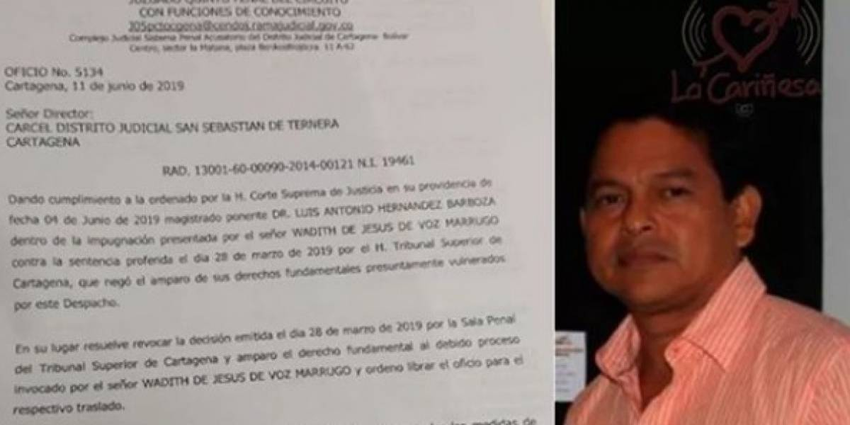 """Corte concede casa por cárcel para el artista Wadith De Voz en """"dudoso"""" caso por plagio a Obregón"""