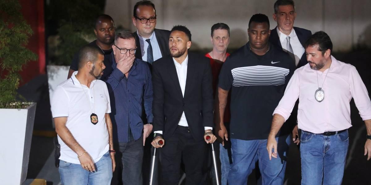 Neymar disse em depoimento que usou preservativo com modelo