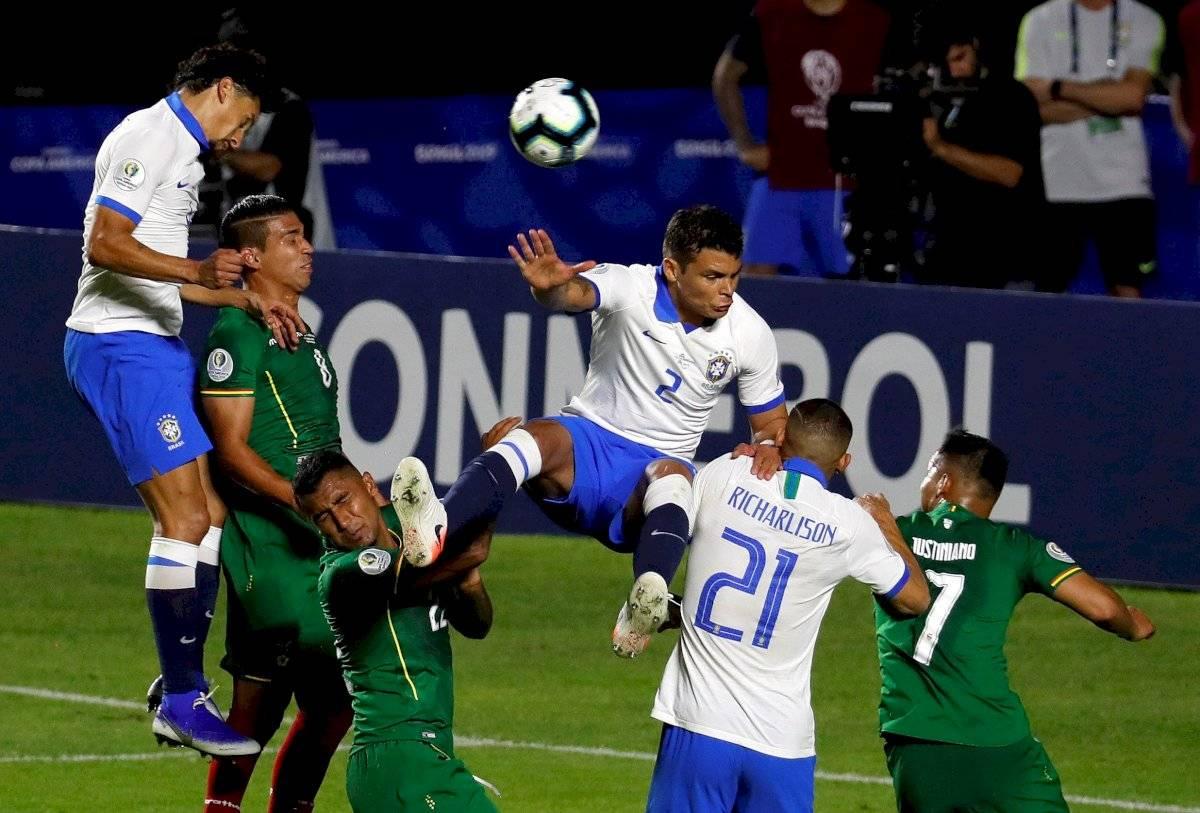 Brasil golea 3-0 a Bolivia en el partido inaugural de la Copa América 2019