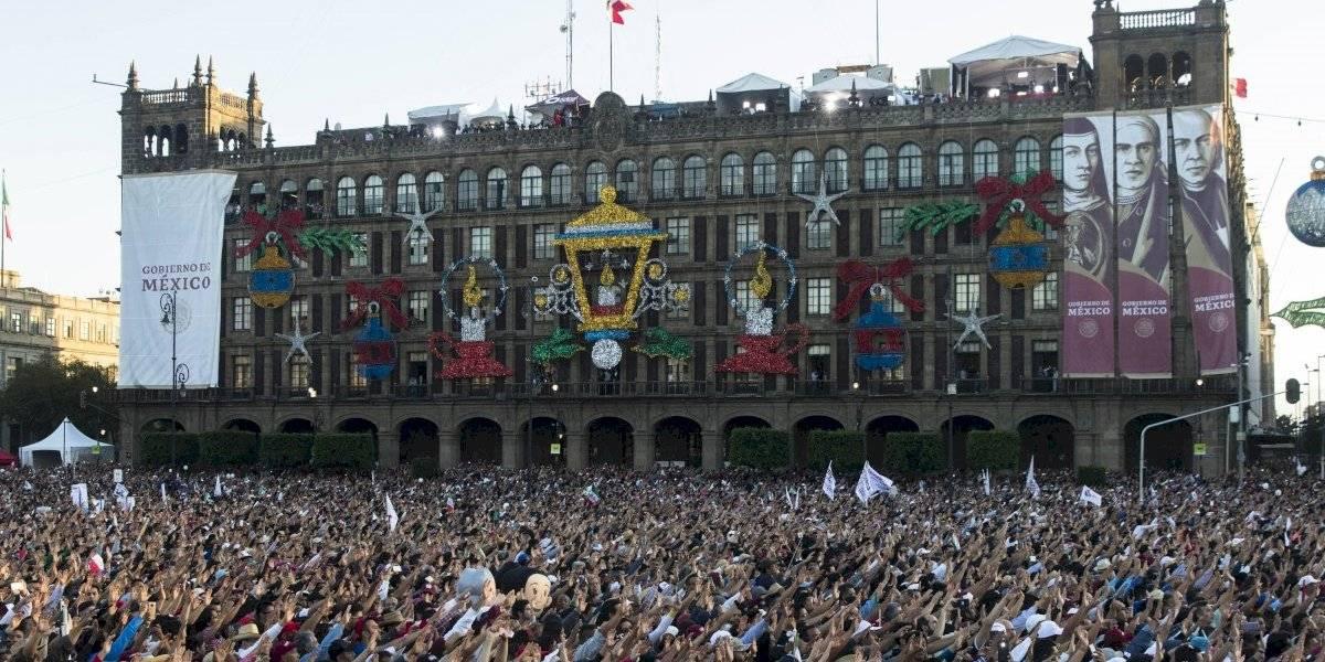 Confirma AMLO informe presidencial en el Zócalo el 1 de julio